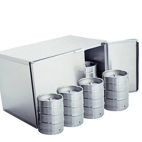 Fässerkühlbox ohne Aggregat, 8x 50 Liter