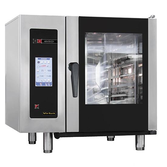 Elektro-Kombidämpfer mit Boiler und automatischem Reinigungssystem, 6x GN 1/1