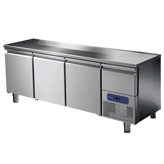 CNS Kühltisch 3-türig oder mit 6 Schubladen -2 °C/+8 °C