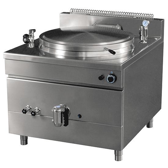 Elektro-Kochkessel, quadratische Version, indirekte Beheizung, 100 Liter