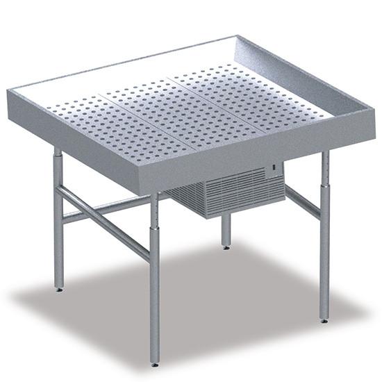 Fischkühltheke, B=1500 mm