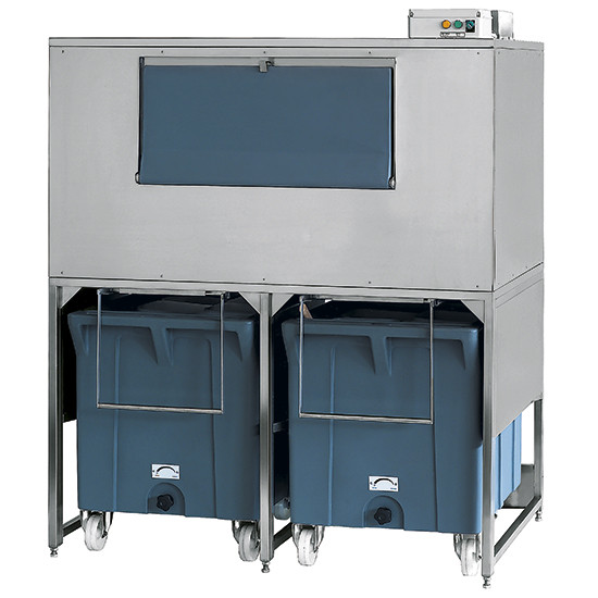 Eiswürfelbehälter auf Rädern, 300+2x108 kg, für KUEI EF01 107