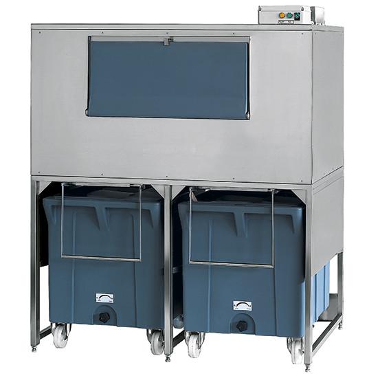 Eiswürfelbehälter auf Rädern, 300+2x108 kg, für KUEI EF01 110