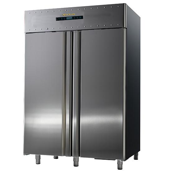 Bäckereitiefkühlschrank 600x400 mm 1400 Liter aus Edelstahl, -10 °C/-30 °C