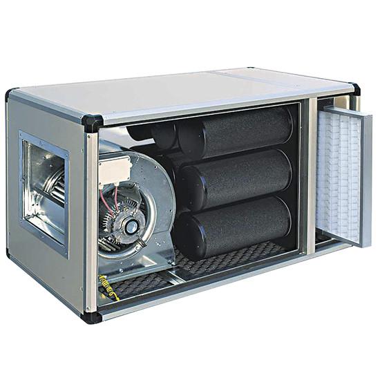 Filtriereinheit mit Direktmotor, 2500 m³/h