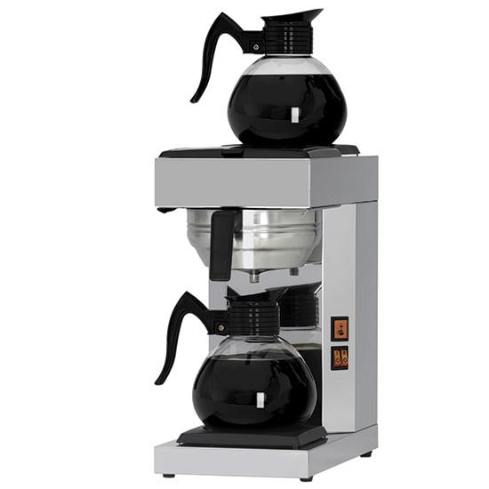 Filterkaffeemaschine, manuell, 2 Glaskannen 1,8 Liter
