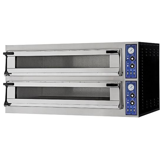 Elektro-Pizzaofen für 4+4 Pizzen Ø 400 mm, z.Zt nicht lieferbar