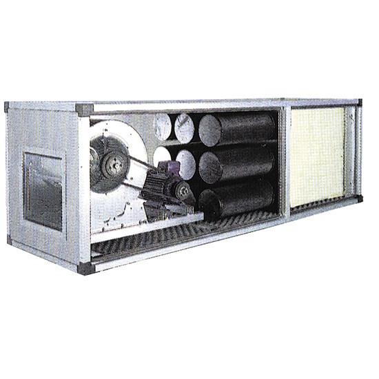 Antriebsfiltriereinheit, 2 Geschwingigkeiten, 12000 m³/h