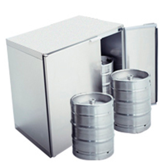 Fasskühlbox ohne Aggregat, 2x 50 Liter