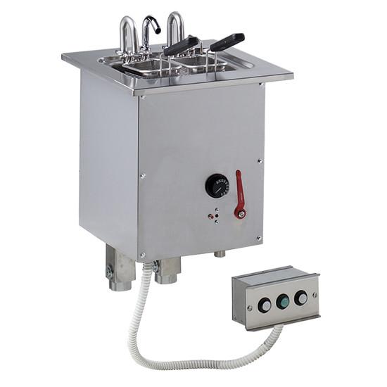 Einbau-Nudelkocher, mit Wasseranschluss, 6 Liter