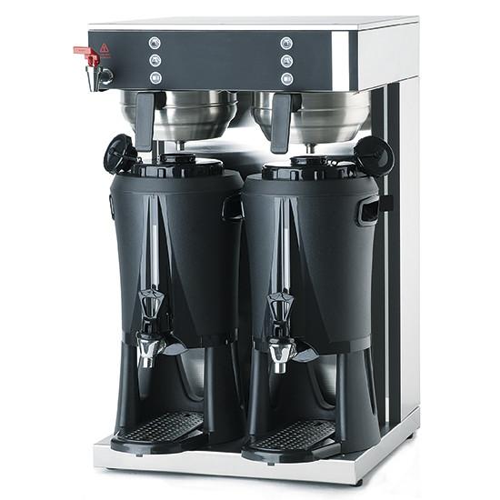 Filterkaffeemaschine mit Wassertank, 2x 2,5 Liter