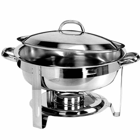 Elektro-Chafing Dish, rund, H=60 mm
