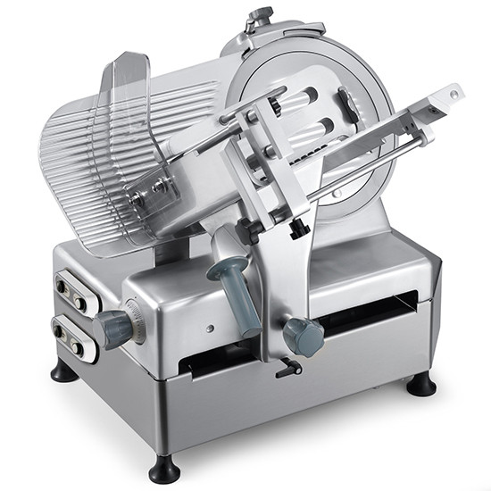 Aufschnittmaschine, Schrägschneidermodell, Messer Ø 300 mm