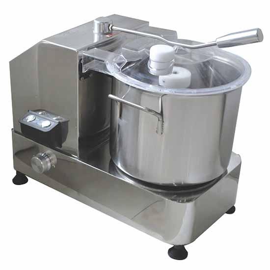 Cutter, Tischmodell, 1 Geschwindigkeit, Kapazität 9 Liter